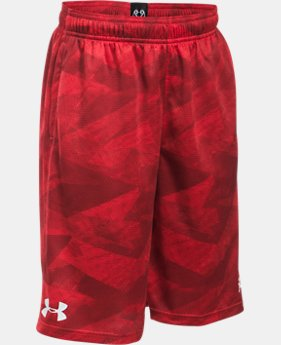 Boys' SC30 Essentials Printed Shorts  1 Color $26.99