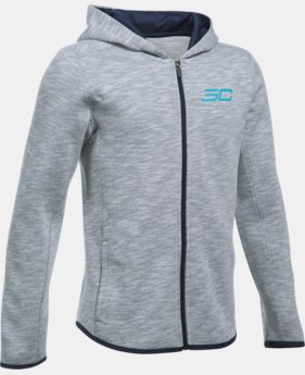 Boys' SC30 Essentials Full Zip Hoodie  1 Color $32.99