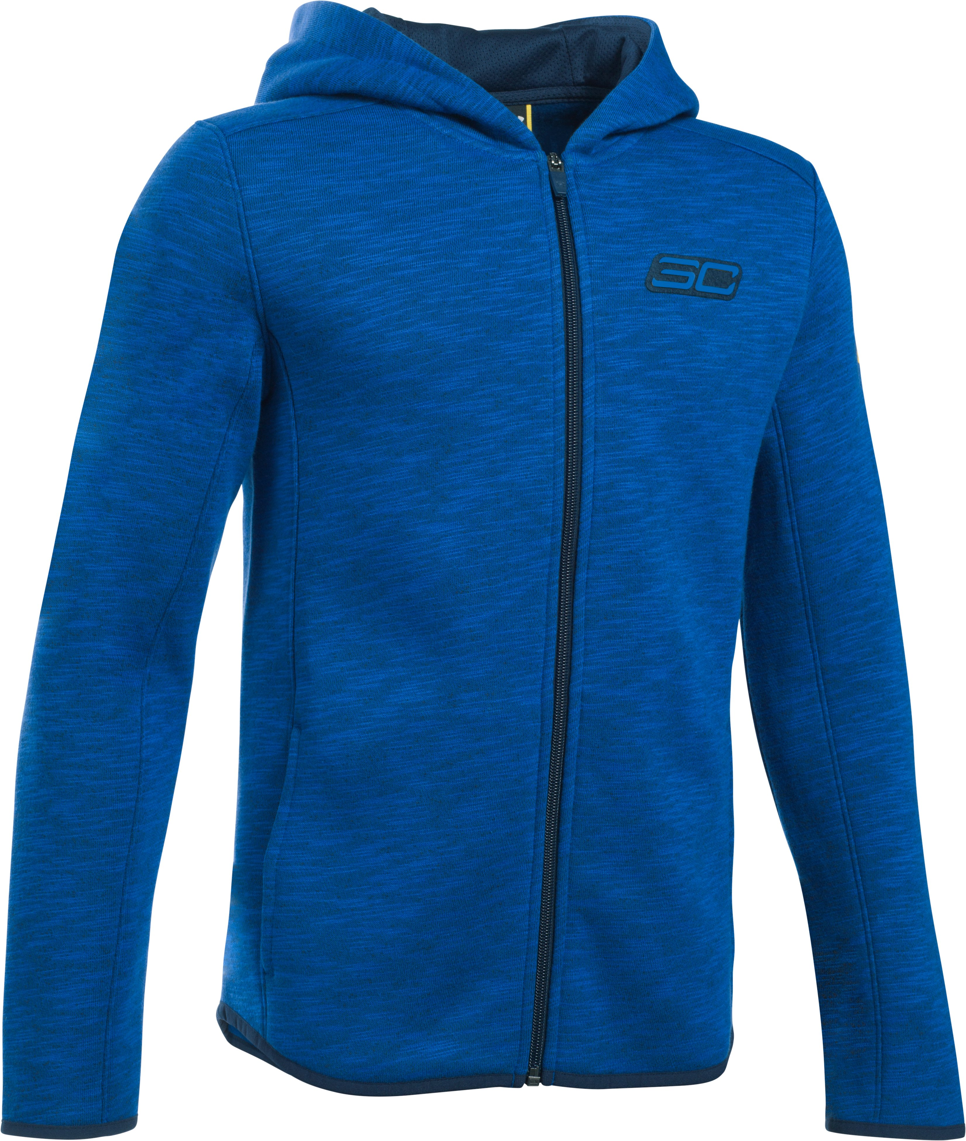 Boys' SC30 Essentials Full Zip Hoodie, Royal