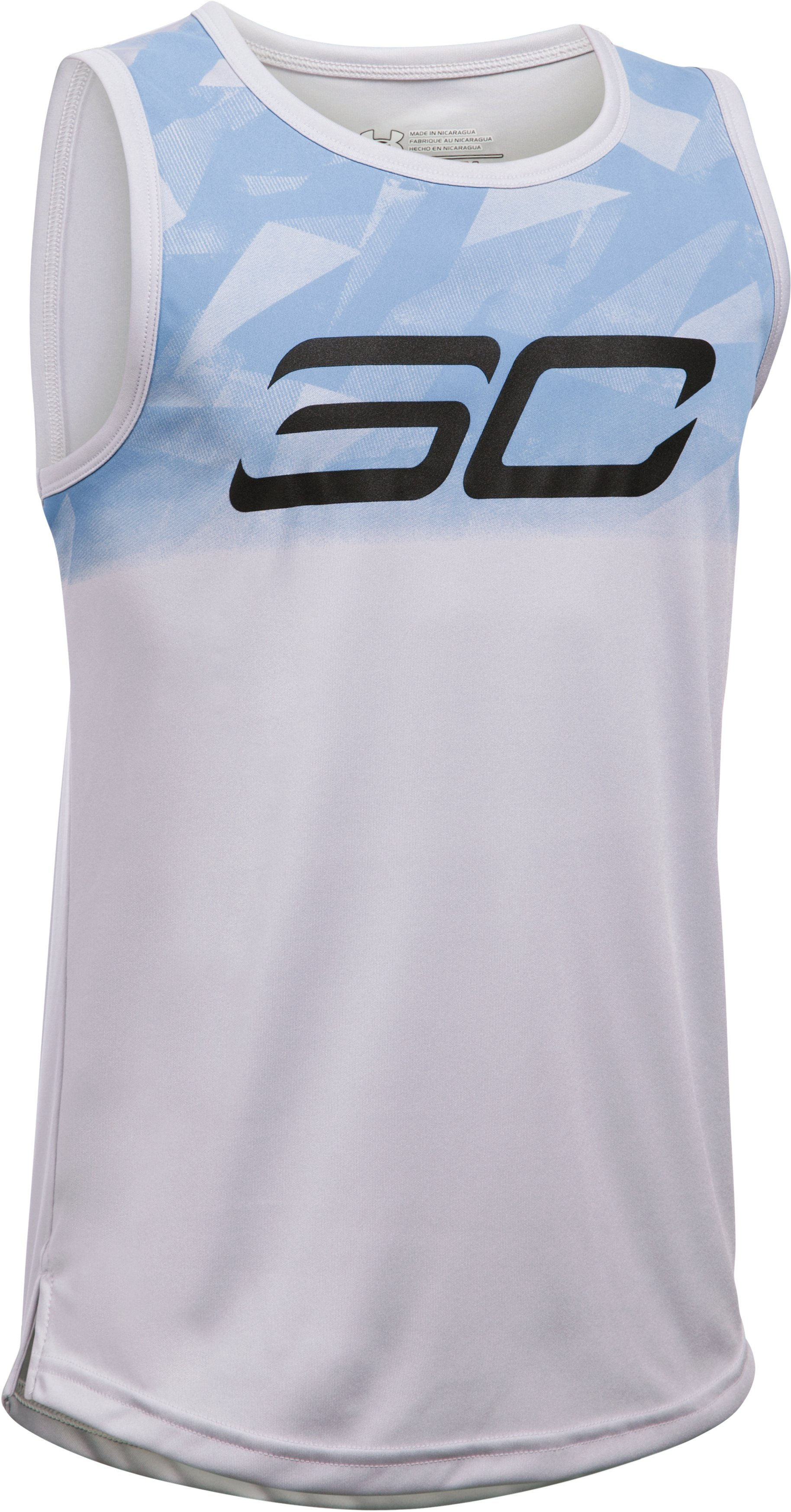 Boys' SC30 Essentials Tank, GLACIER GRAY