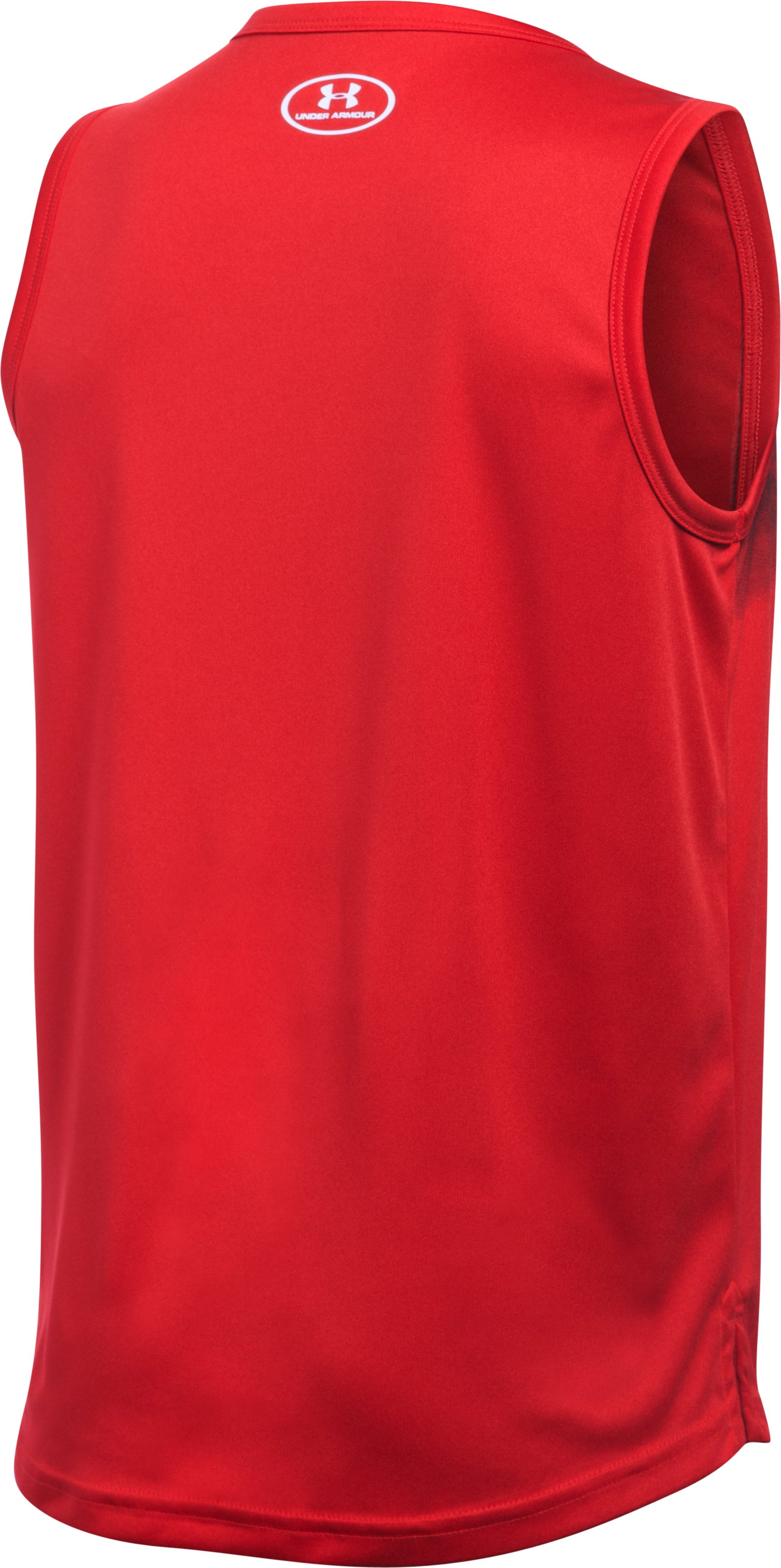 Boys' SC30 Essentials Tank, Red,