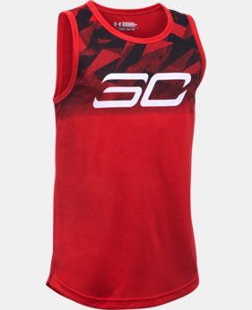 Boys' SC30 Essentials Tank  1 Color $16.99 to $17.99