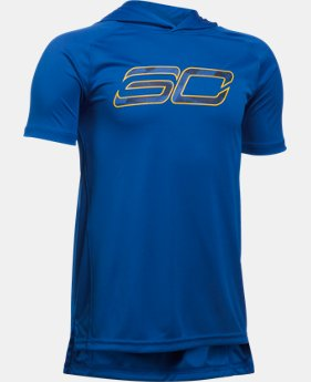 Boys' SC30 Essentials Hooded T-Shirt  1 Color $22.49
