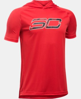 Boys' SC30 Essentials Hooded T-Shirt  1 Color $20.99 to $26.99