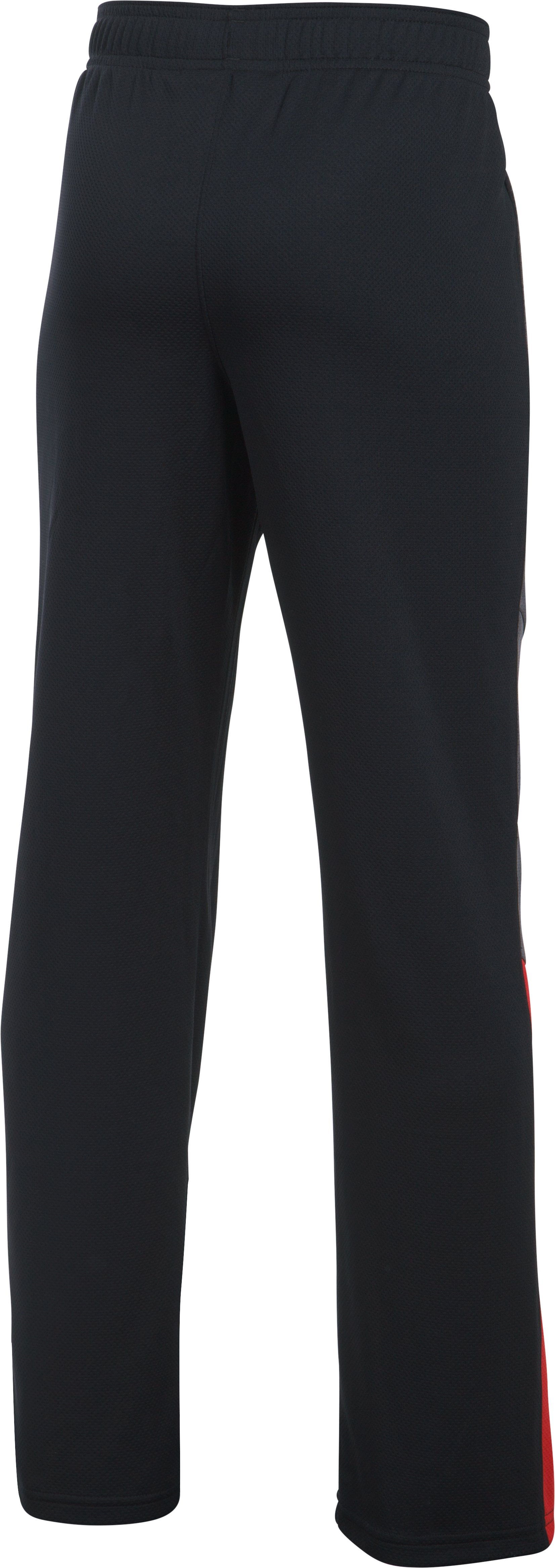 Boys' UA Advantage Warm-Up Pants, Black , undefined