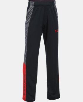 New Arrival Boys' UA Advantage Warm-Up Pants  2 Colors $29.99