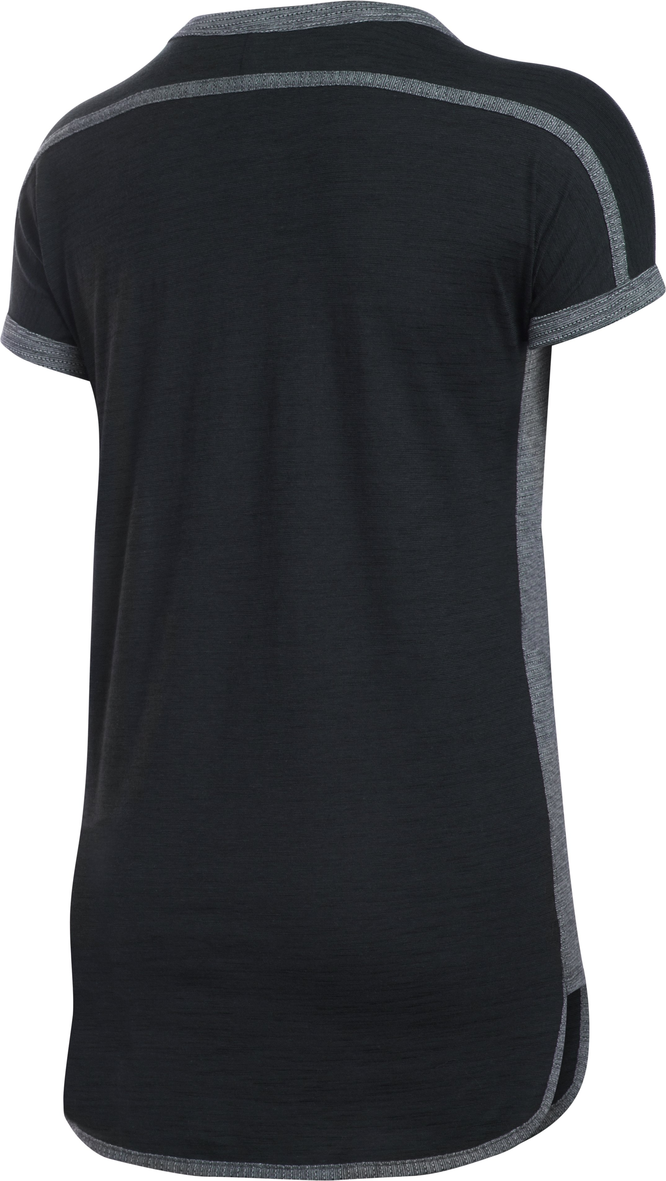 Women's UA Fashlete T-Shirt, Black