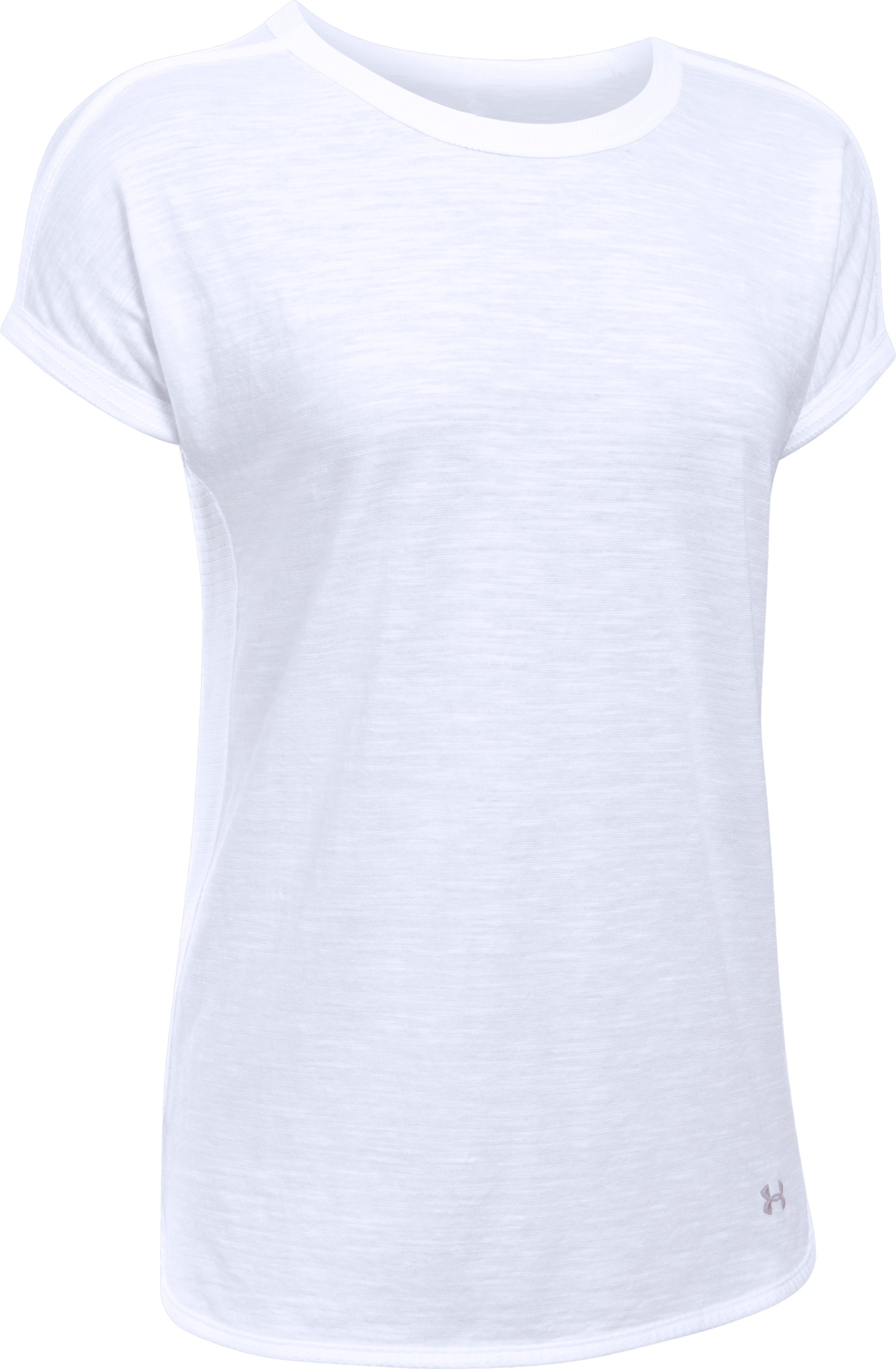 Women's UA Fashlete T-Shirt, White, undefined