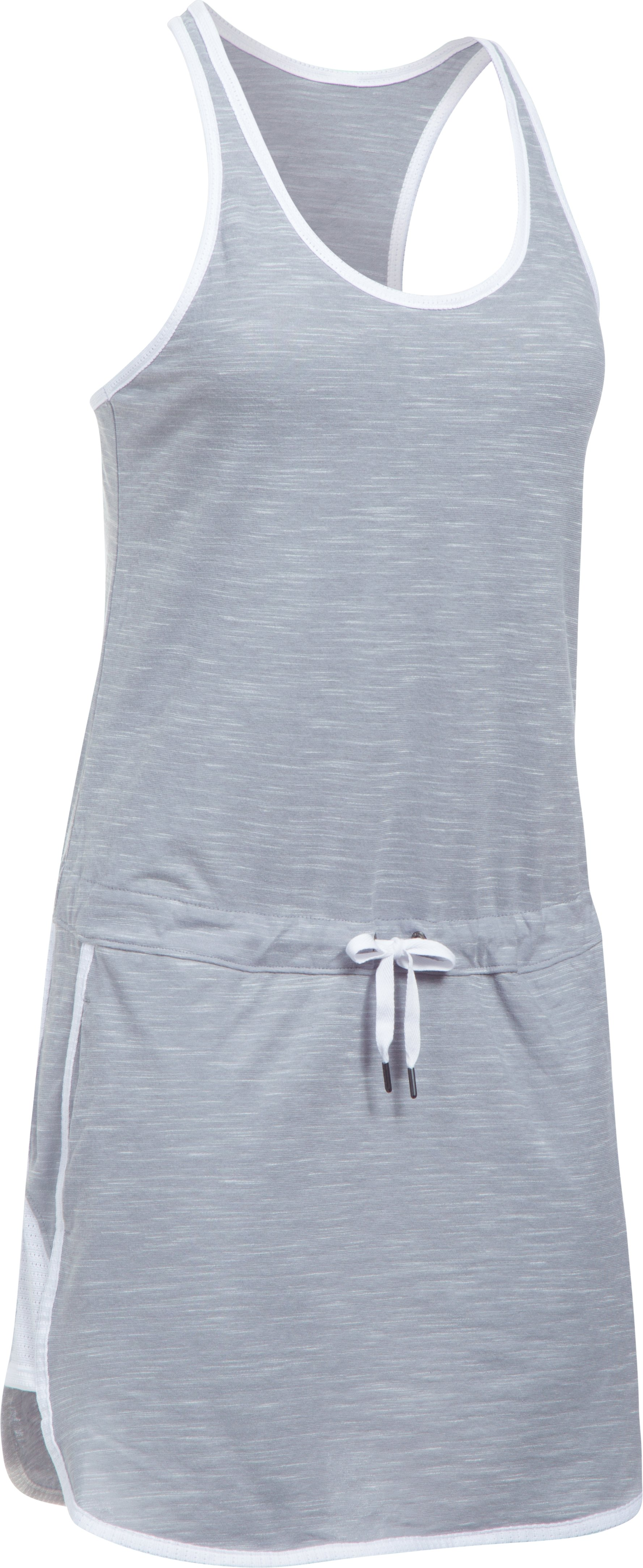 Women's UA Fashlete Dress, True Gray Heather,