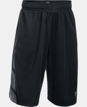 Boys' UA Triple Double Shorts  1 Color $18.74 to $18.99