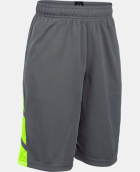 Boys' UA Triple Double Shorts  1 Color $14.06