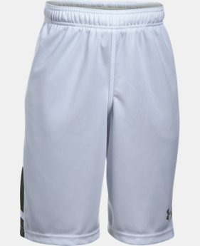New Arrival Boys' UA Triple Double Shorts   $24.99