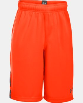 Boys' UA Triple Double Shorts  1 Color $18.99