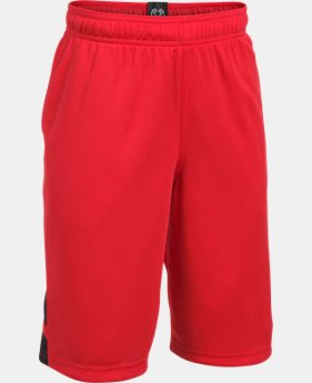 Boys' UA Triple Double Shorts  2 Colors $24.99