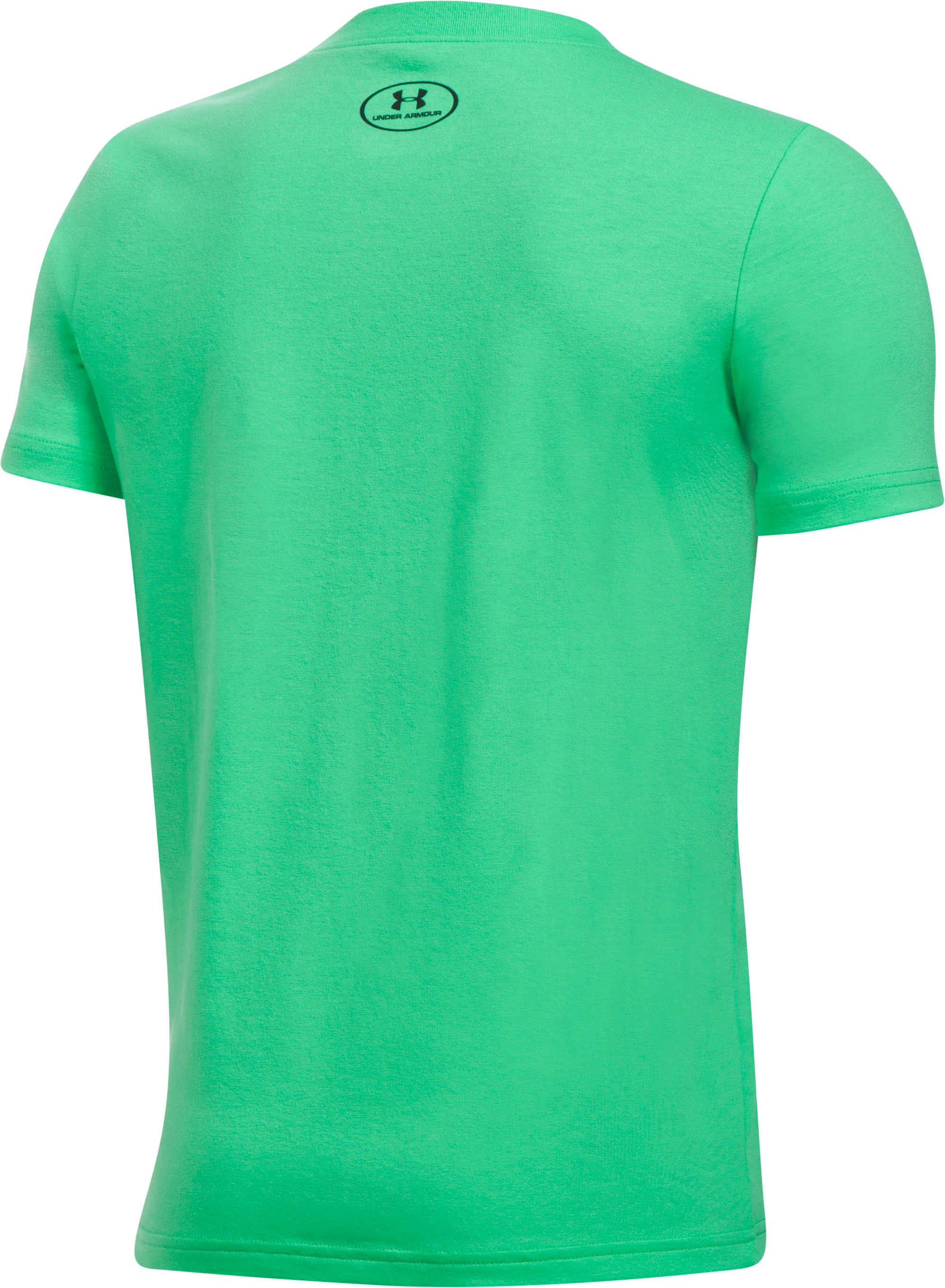 Boys' UA Branded Baller T-Shirt, VAPOR GREEN,