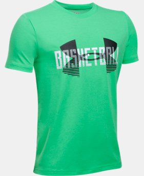 Boys' UA Branded Baller T-Shirt  1 Color $14.99