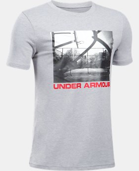 Boys' UA Any Court Any Surface T-Shirt  1 Color $22.99