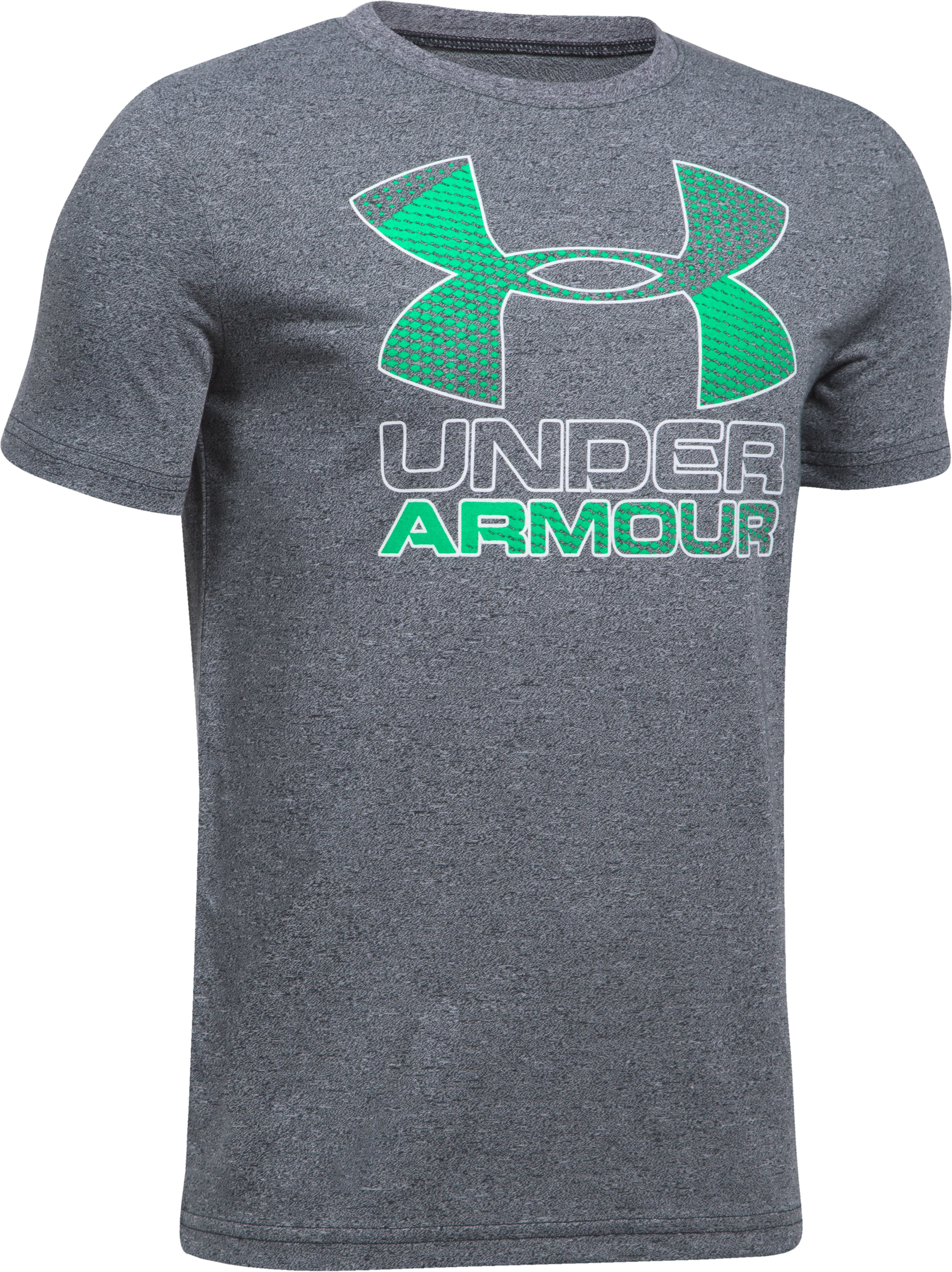 Boys' UA Hybrid Big Logo T-Shirt 5 Colors $12.50 - $18.99