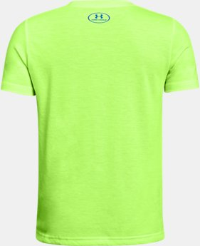 Best Seller Boys' UA Hybrid Big Logo T-Shirt  15 Colors $19.99