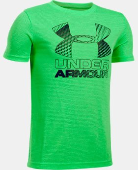 Best Seller  Boys' UA Hybrid Big Logo T-Shirt  12 Colors $17.99 to $22.99