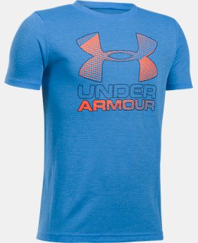 Best Seller  Boys' UA Hybrid Big Logo T-Shirt  15 Colors $22.99