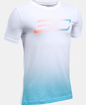 Boys' SC30 Player Fade Short Sleeve T-Shirt  1 Color $17.99