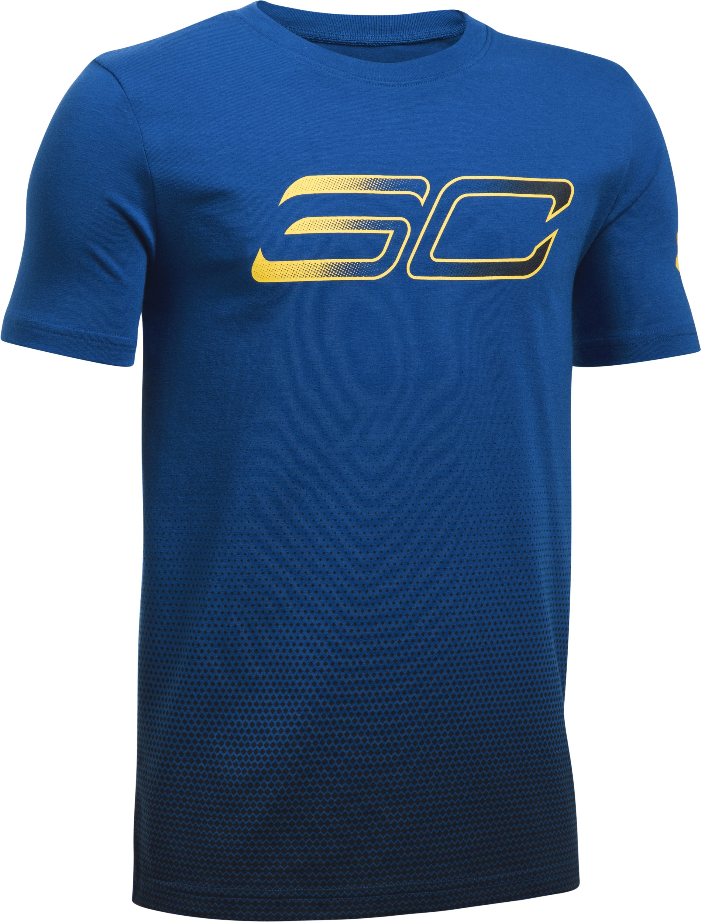 Boys' SC30 Player Fade Short Sleeve T-Shirt, Royal, undefined