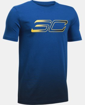 Boys' SC30 Player Fade Short Sleeve T-Shirt  1 Color $29.99