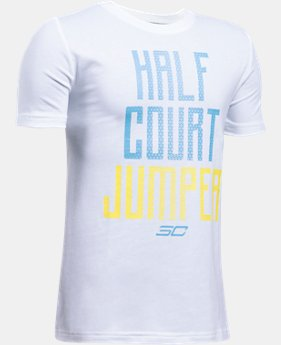 Boys' SC30 Half Court Jumper T-Shirt  1 Color $12.74