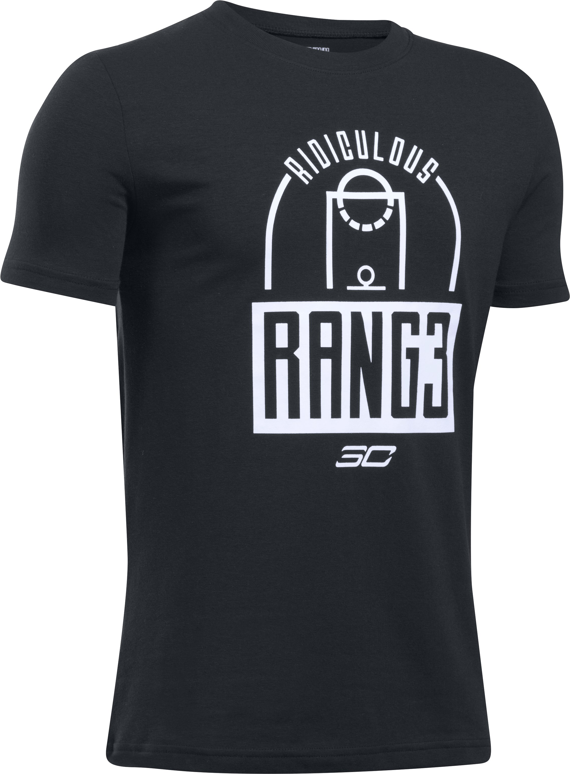 Boys' SC30 Ridiculous Range T-Shirt, Black