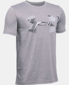 New Arrival Boys' UA Combo Logo Short Sleeve T-Shirt   $19.99