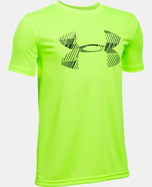 New Arrival Boys' UA Combo Logo Short Sleeve T-Shirt  1 Color $19.99