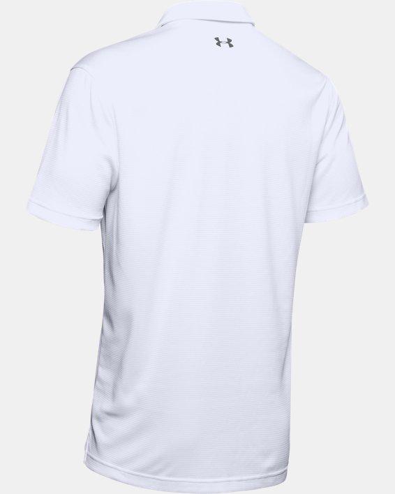 Polo UA Tech pour homme, White, pdpMainDesktop image number 8