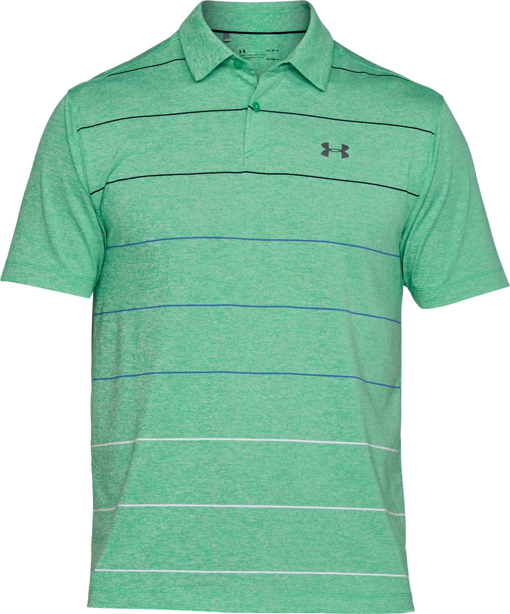 Men's UA CoolSwitch Pivot Polo, JADE LIGHT HEATHER, undefined
