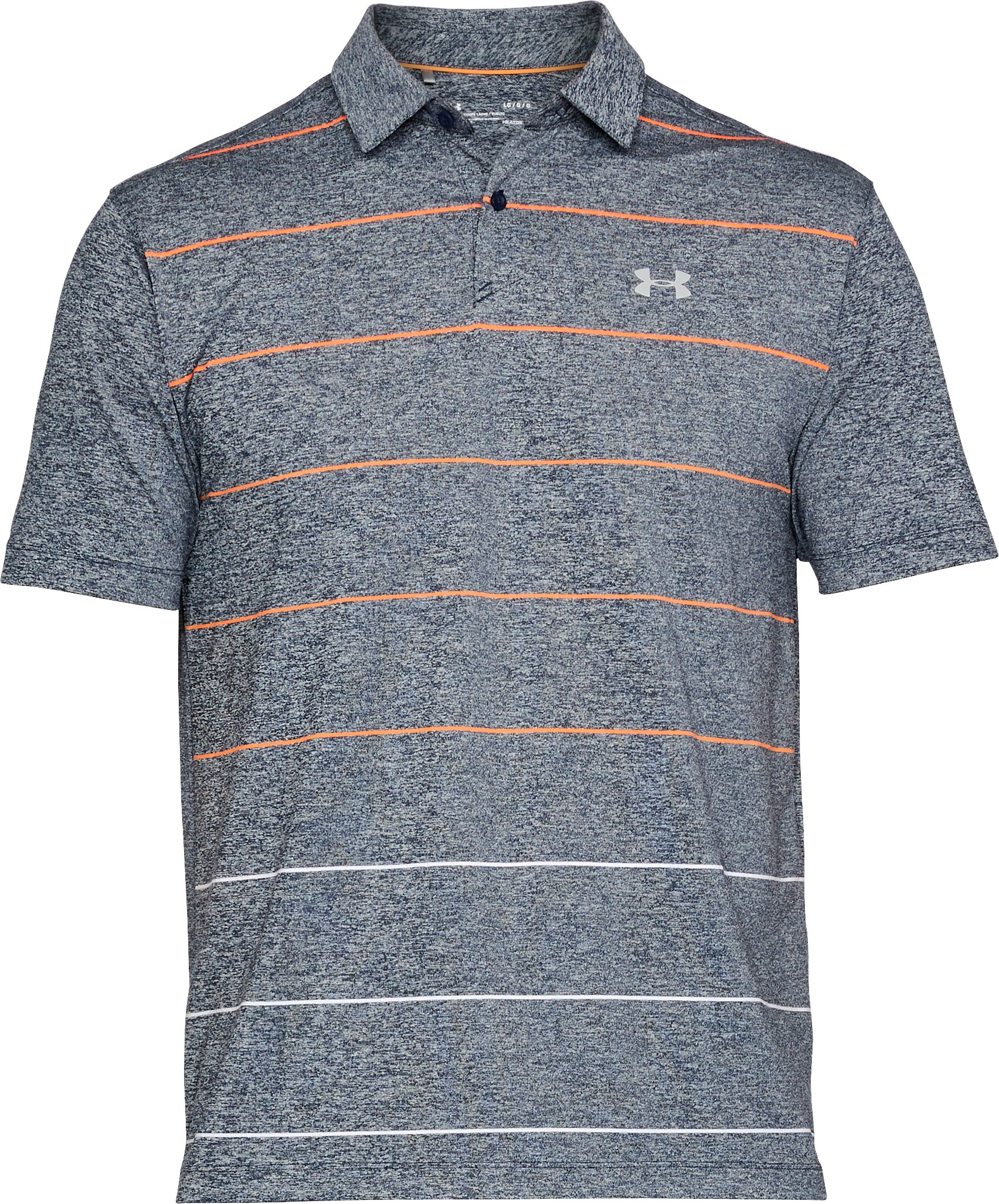 Men's UA CoolSwitch Pivot Polo, ACADEMY LIGHT HEATHER, undefined