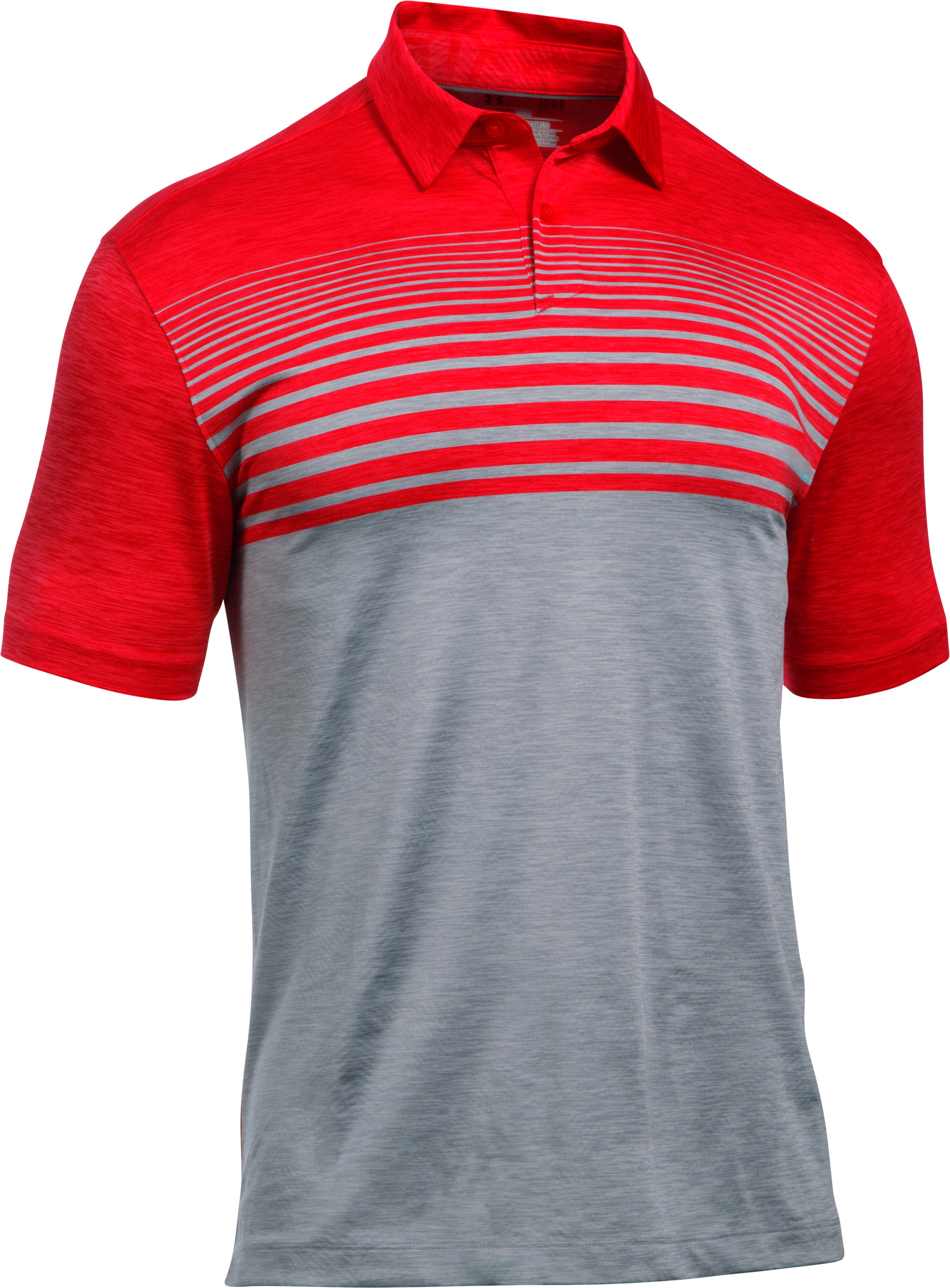 Men's UA CoolSwitch Upright Polo, Red