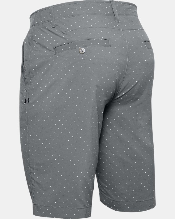 Men's UA Match Play Textured Shorts, Gray, pdpMainDesktop image number 5