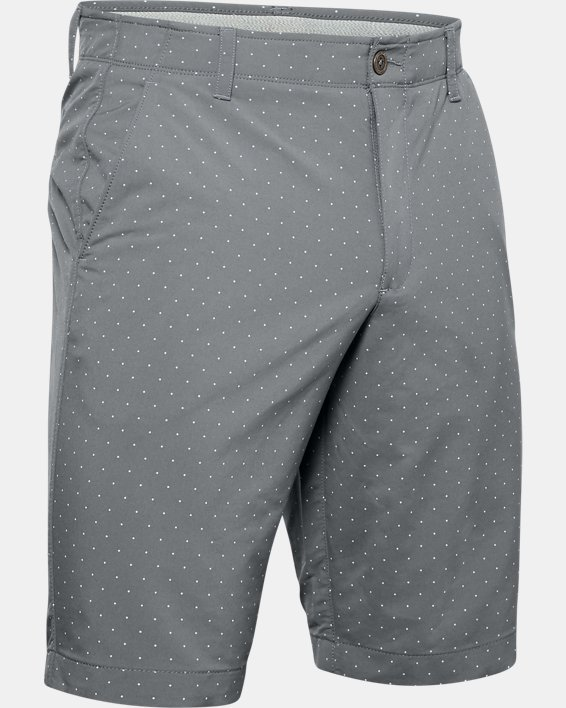 Men's UA Match Play Textured Shorts, Gray, pdpMainDesktop image number 4