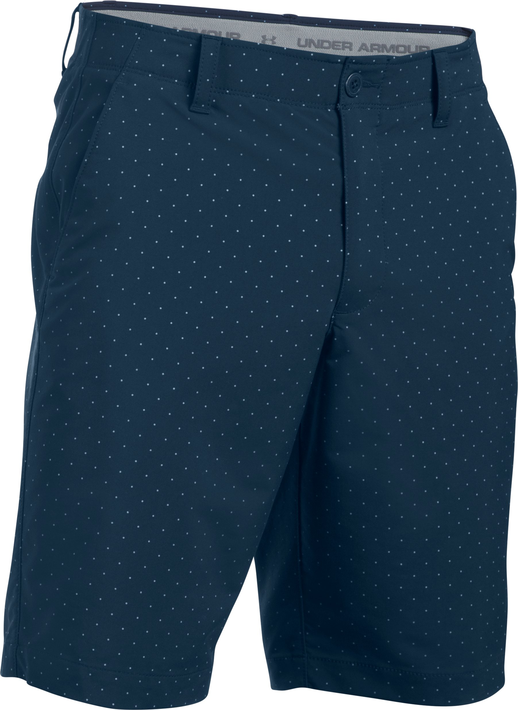 Men's UA Match Play Textured Shorts, Academy,