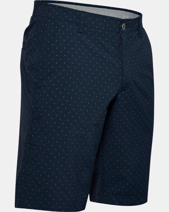 Men's UA Match Play Textured Shorts, Navy, pdpMainDesktop image number 4
