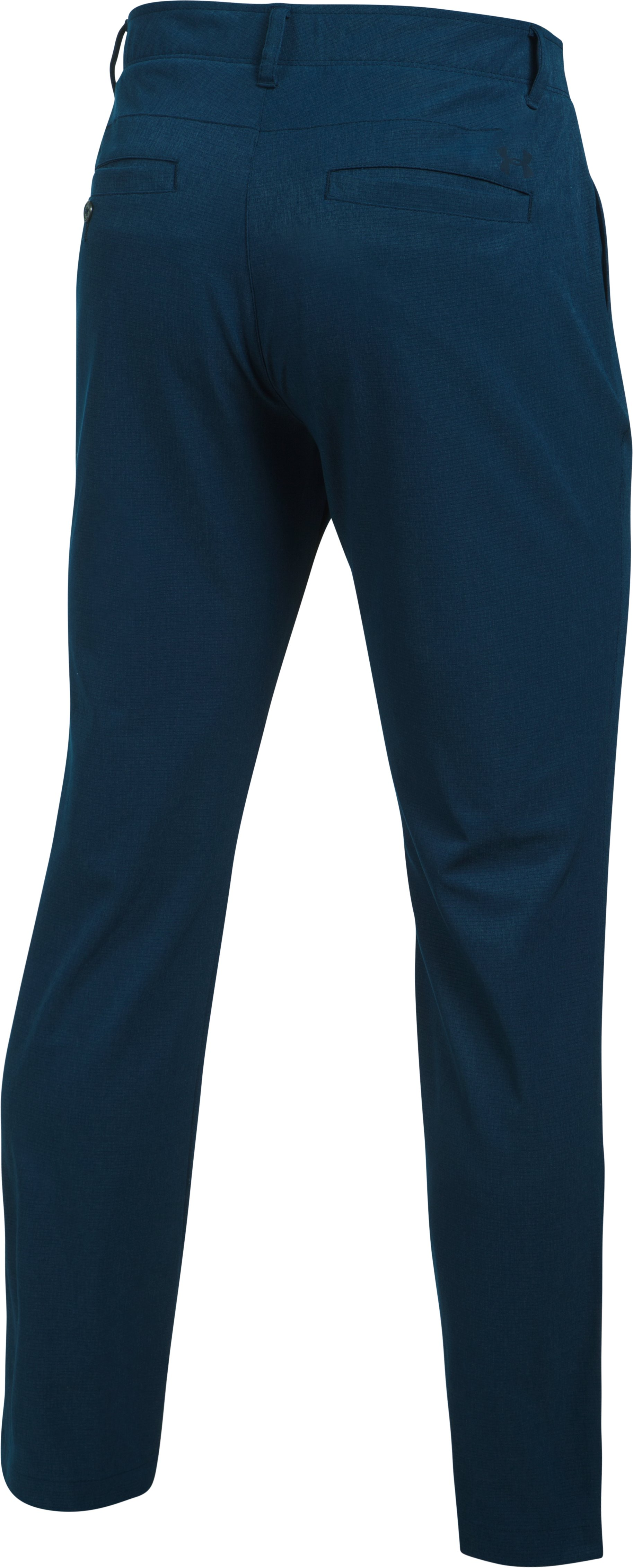 Men's UA Match Play Vented Tapered Pants, Academy, undefined