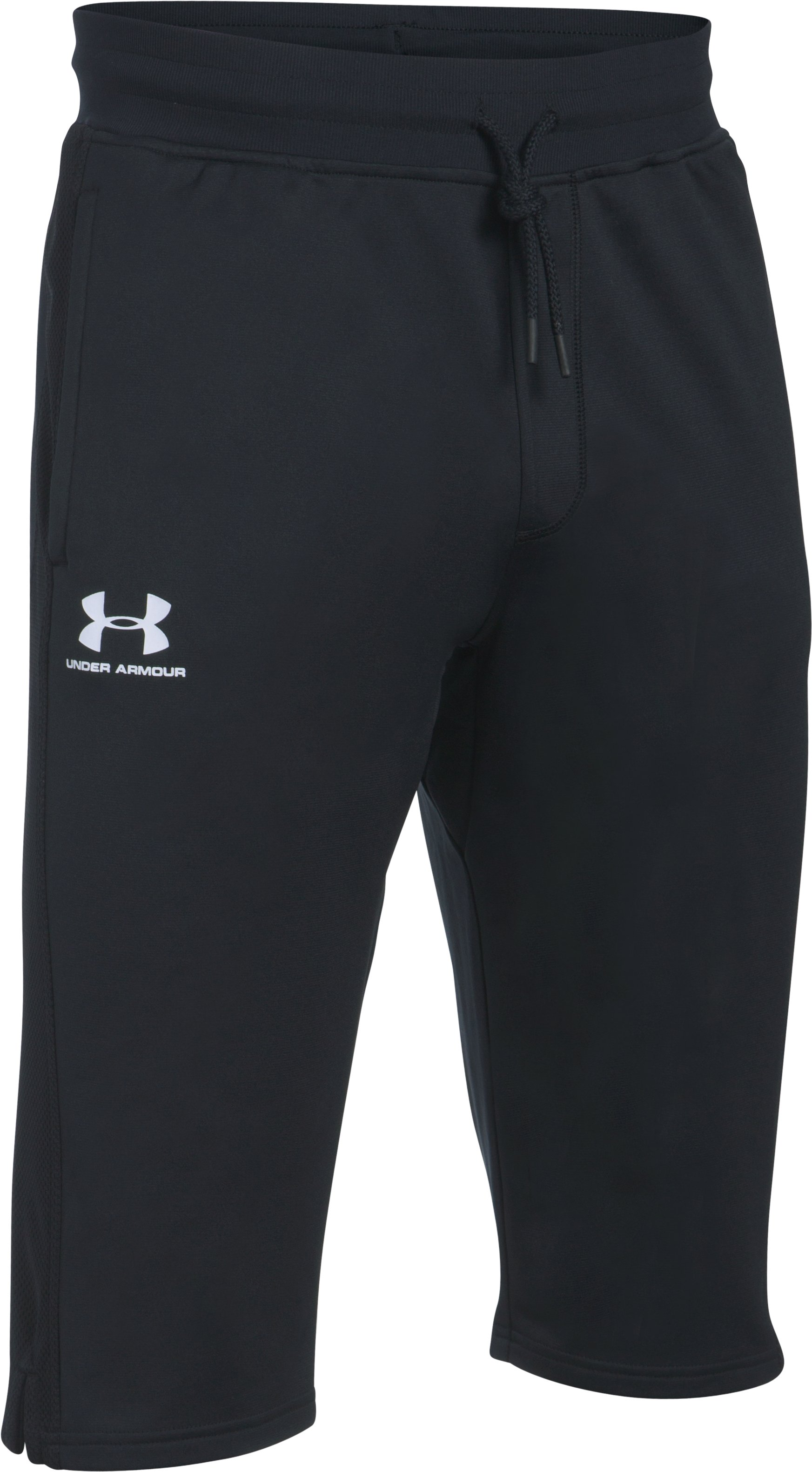 Men's UA Sportstyle ½ Pants, Black , undefined