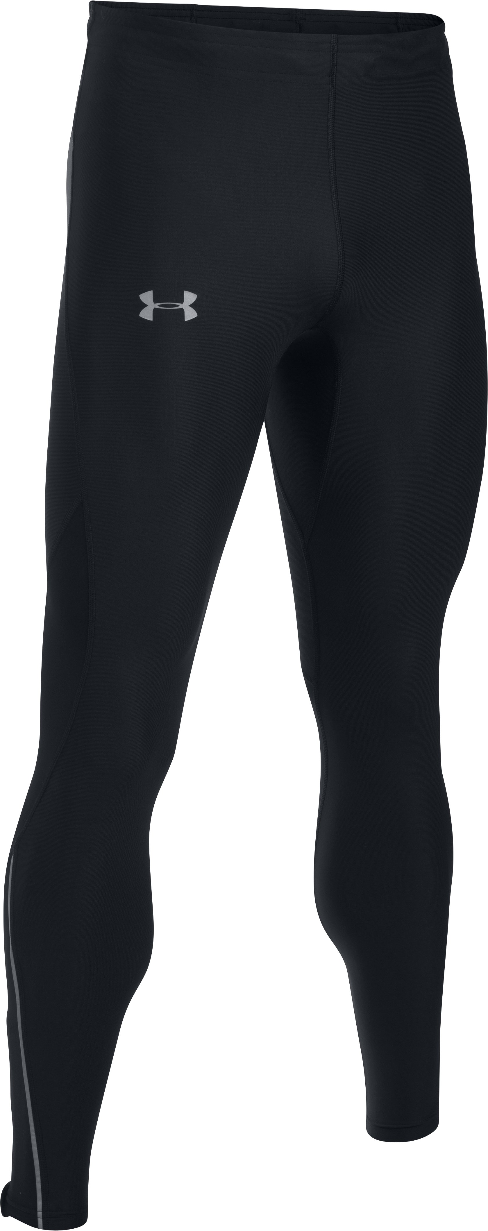 Men's UA CoolSwitch Run Tights, Black ,