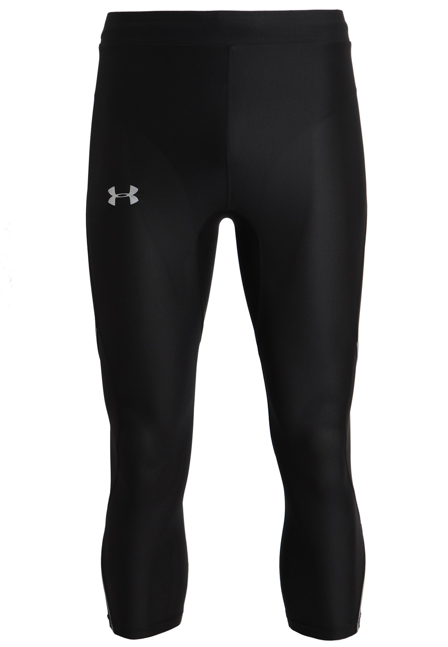 Men's UA Run True ¾ Leggings, Black ,