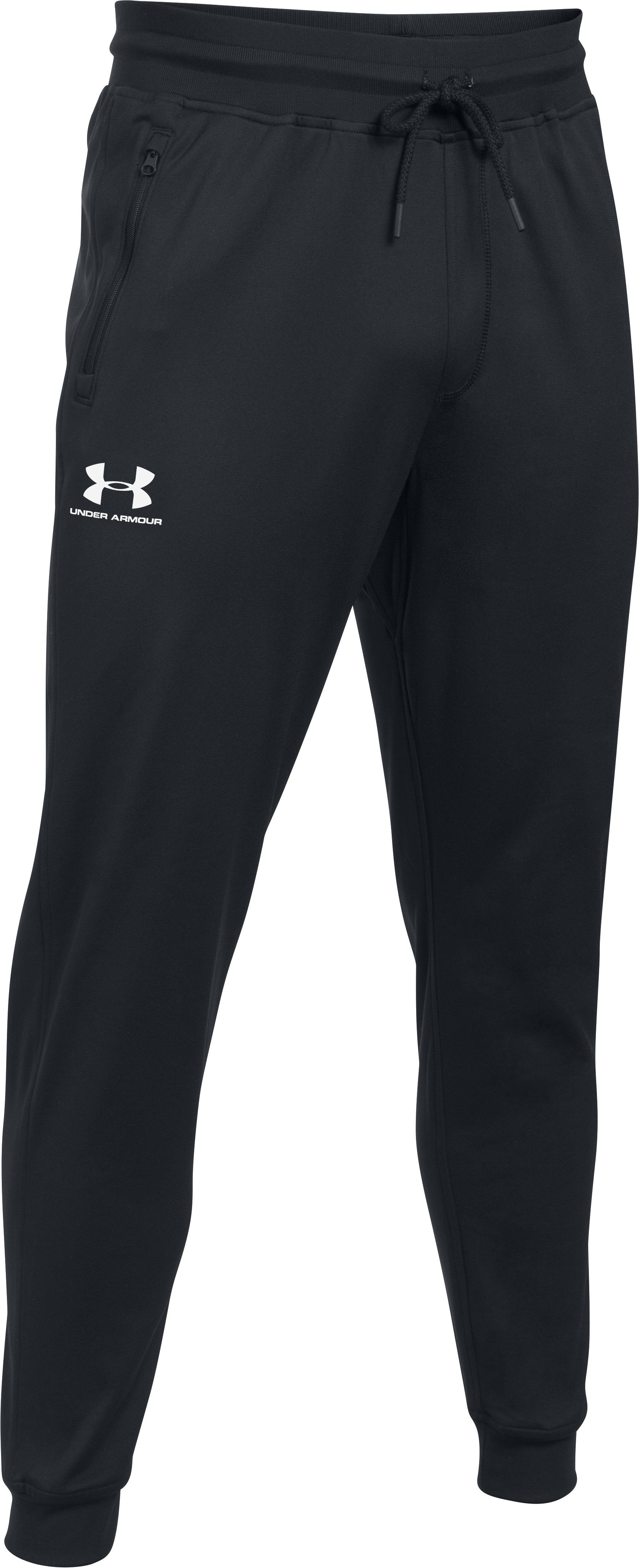 Men's UA Sportstyle Joggers, Black , undefined