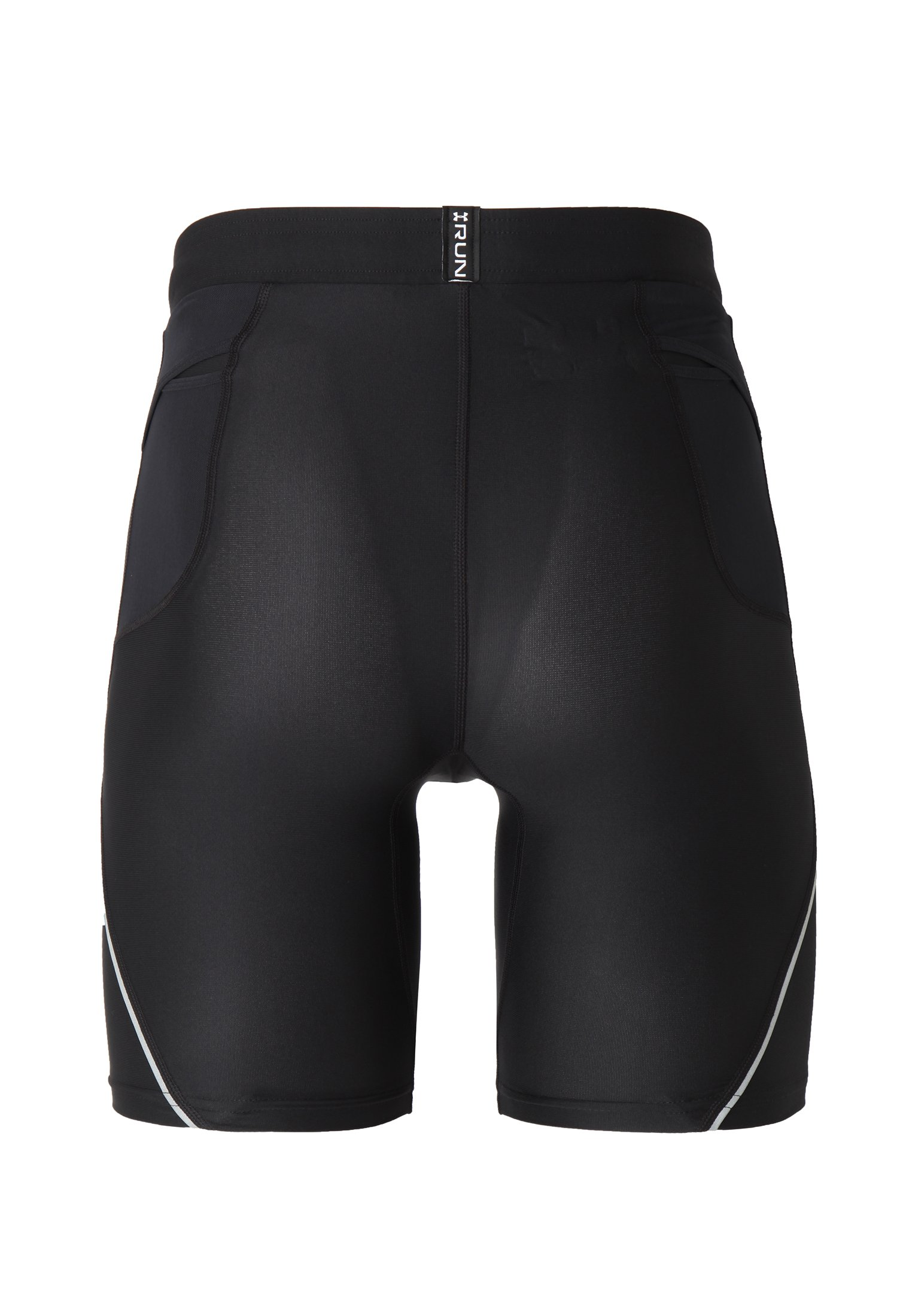 Men's UA Run True Half Tight, Black ,