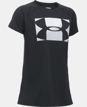New Arrival  Girls' UA Big Logo T-Shirt  2 Colors $22.99