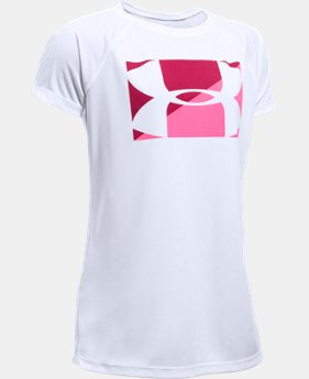 Girls' UA Big Logo T-Shirt   $14.99