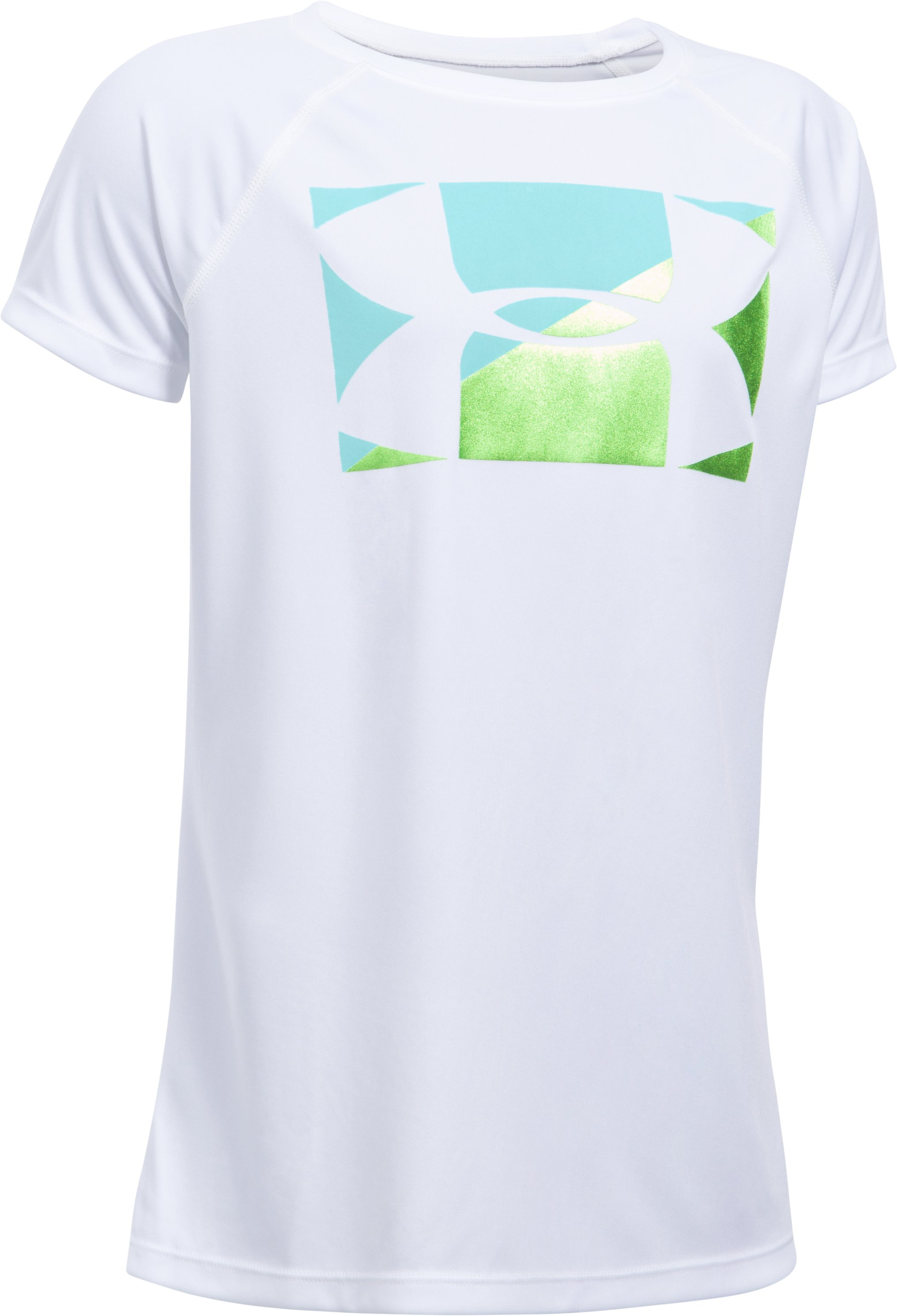 Girls' UA Big Logo T-Shirt, White