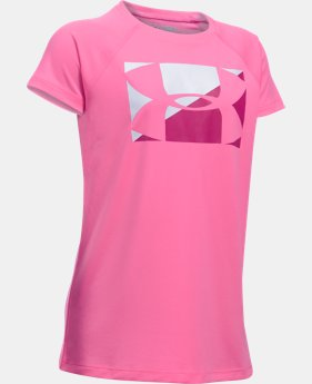 Girls' UA Big Logo T-Shirt  3 Colors $14.99